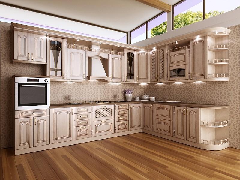 кухня с патиной фото