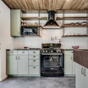 кухня с патиной идеи декор