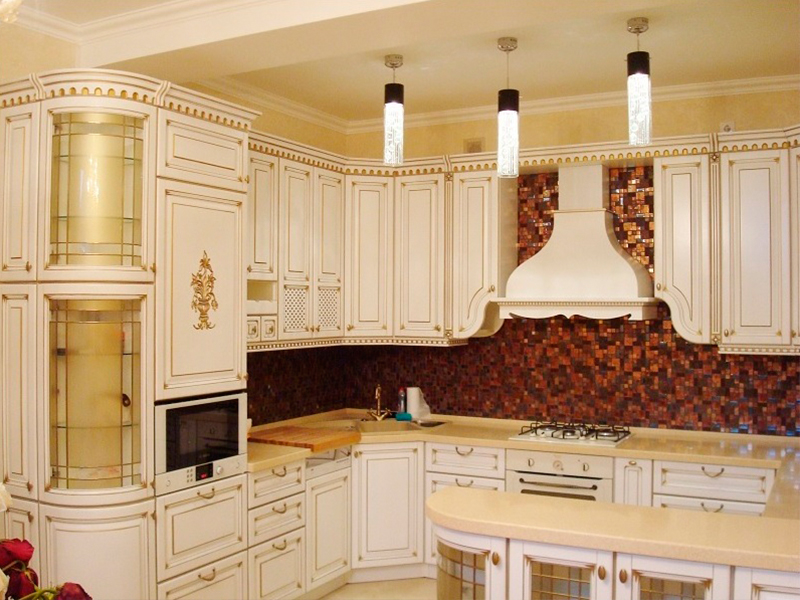 кухня с патиной идеи фото
