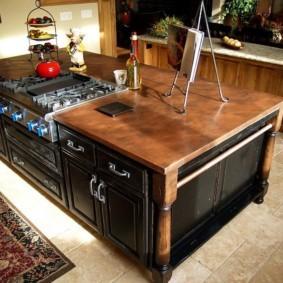 кухня с патиной идеи интерьера