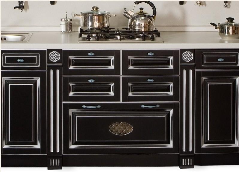 кухня с патиной варианты фото