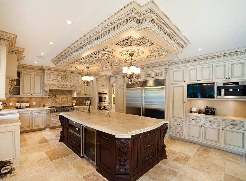 кухня с патиной виды фото