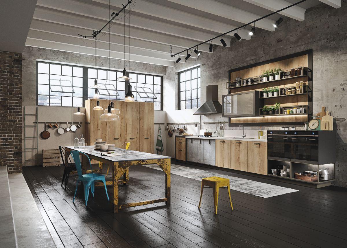 кухня с темным полом варианты идеи