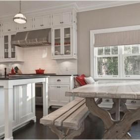 кухонная скамья фото идеи