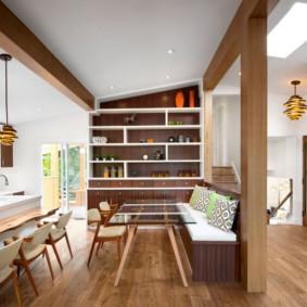 кухонная скамья дизайн