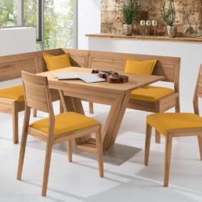 кухонная скамья дизайн фото
