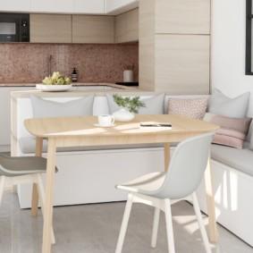 кухонная скамья фото декор