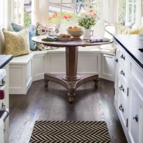 кухонная скамья фото декора
