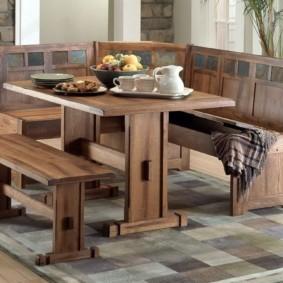 кухонная скамья идеи декора