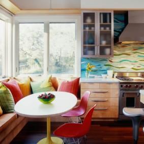 кухонная скамья интерьер идеи