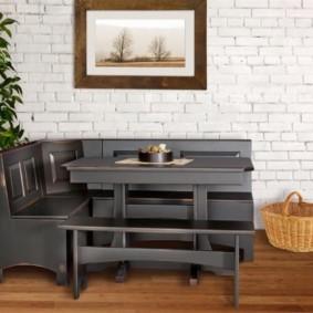 кухонная скамья идеи интерьер