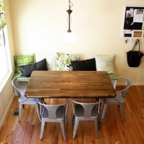 кухонная скамья оформление
