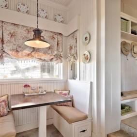 кухонная скамья оформление идеи