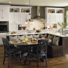 кухонная скамья фото