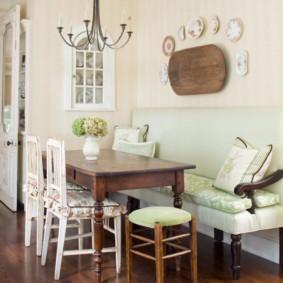 кухонная скамья идеи оформления
