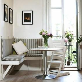 кухонная скамья фото варианты