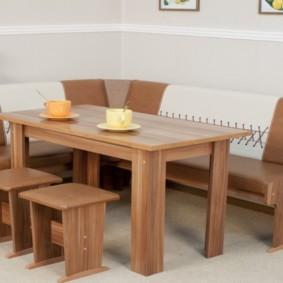 кухонная скамья фото вариантов