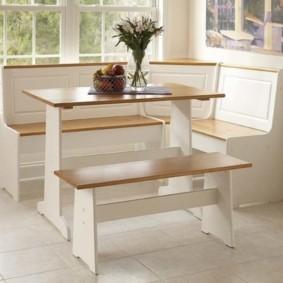 кухонная скамья виды дизайна
