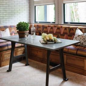 кухонная скамья идеи фото
