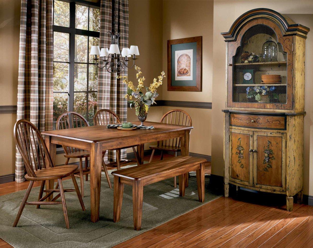 кухонная скамья из дерева
