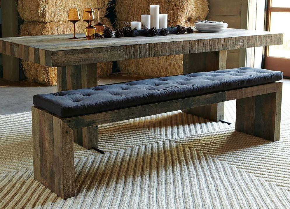 кухонная скамья с мягким сидением