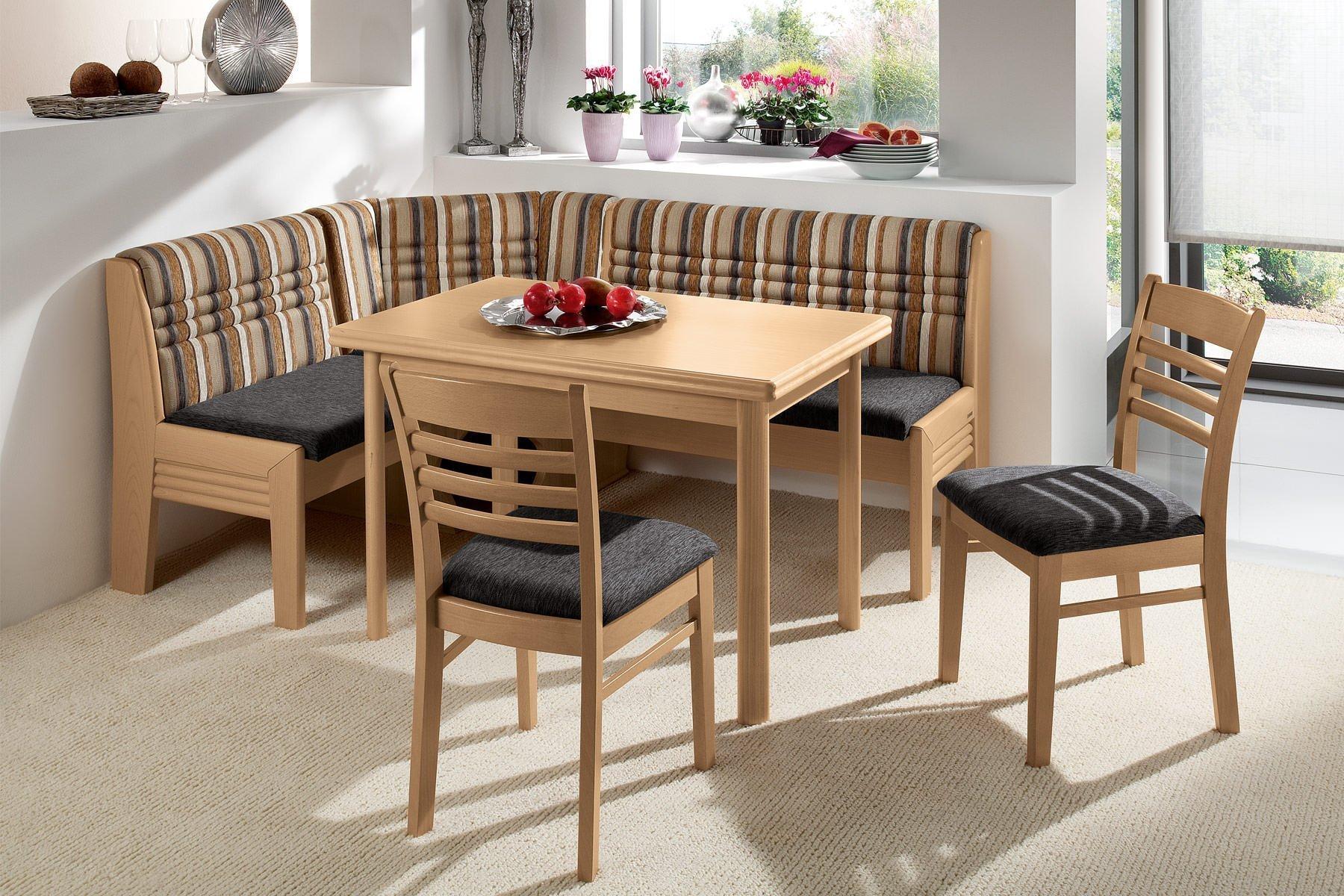 кухонная скамья с обивкой