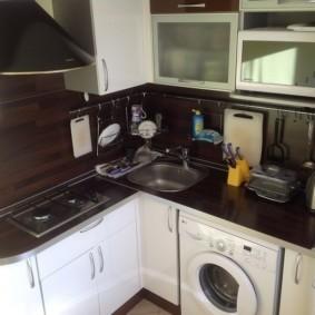 кухня в панельном доме фото видов