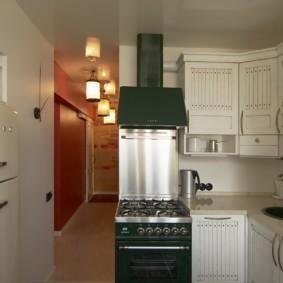 маленькая кухня декор фото