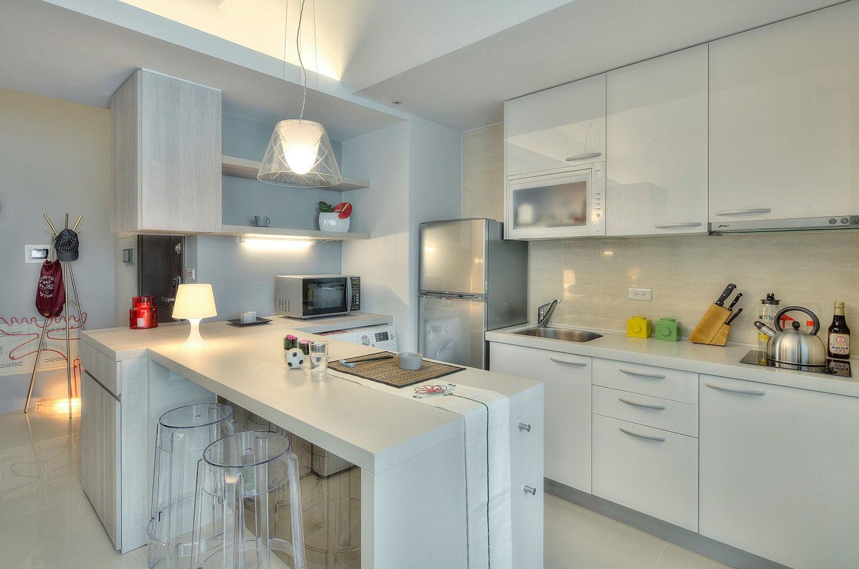 маленькая кухня декор идеи