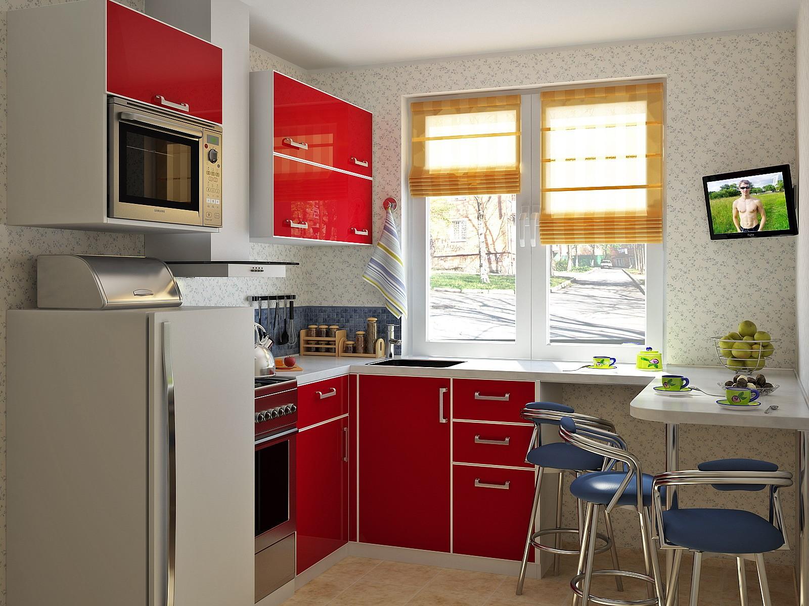 маленькая кухня дизайн идеи
