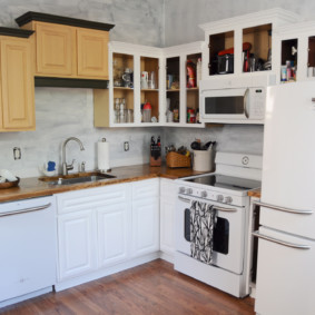 маленькая кухня фото дизайна