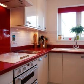маленькая кухня фото оформления