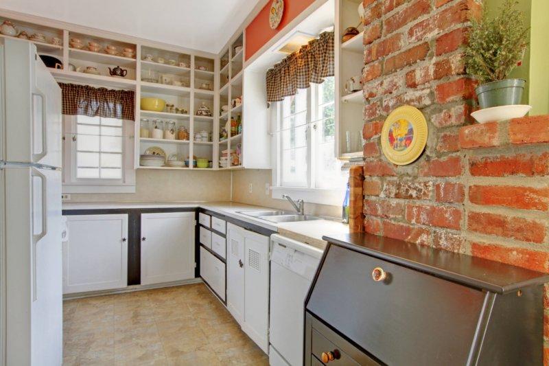 маленькая кухня фото видов