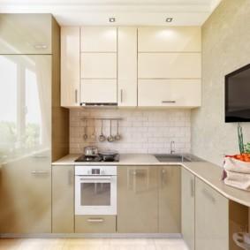 маленькая кухня идеи фото