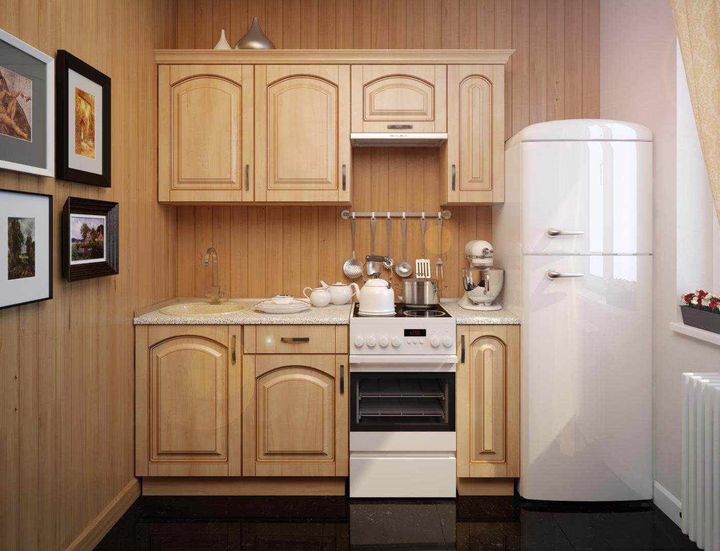 маленькая кухня интерьер фото