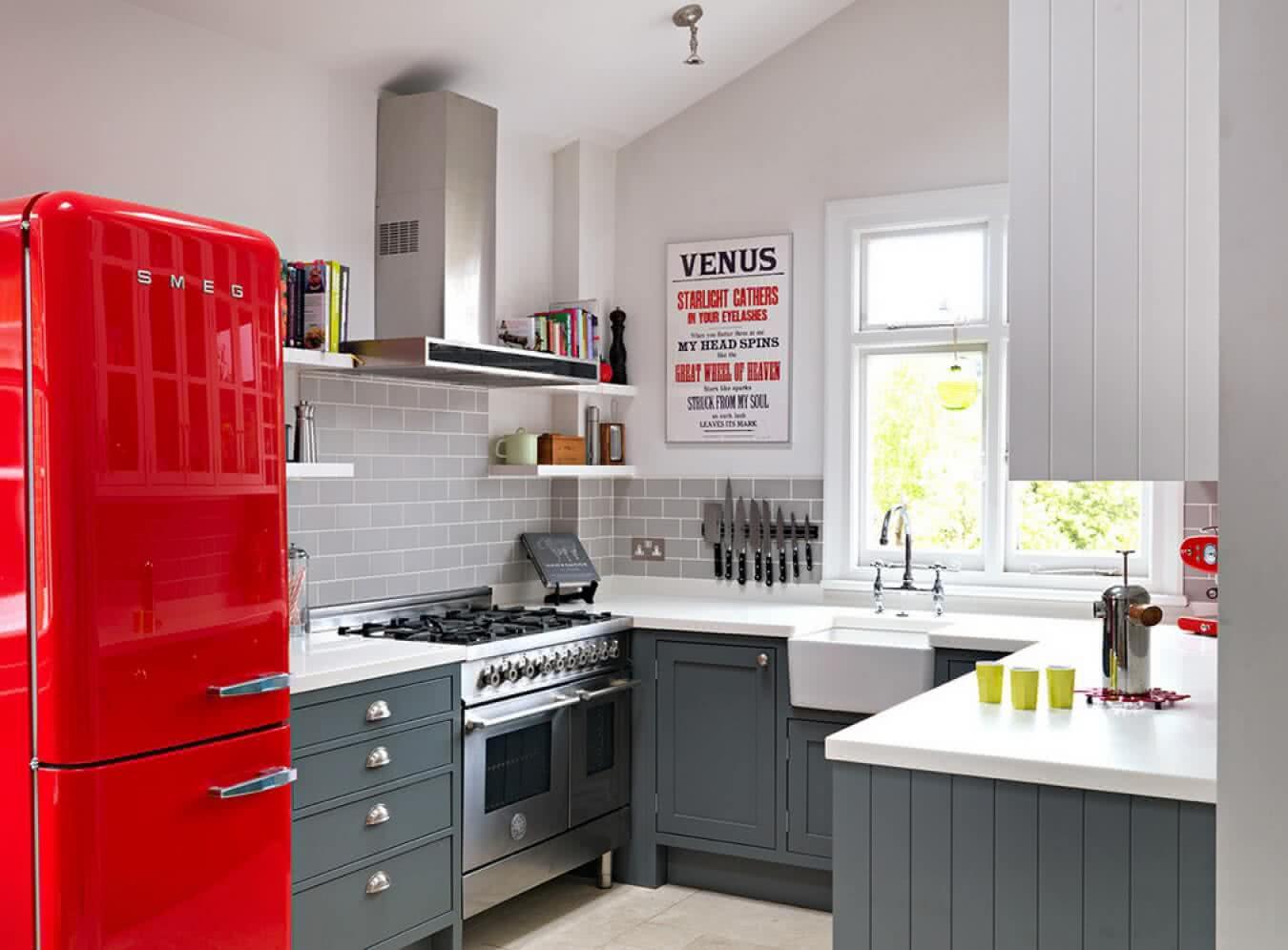 маленькая кухня в панельном доме