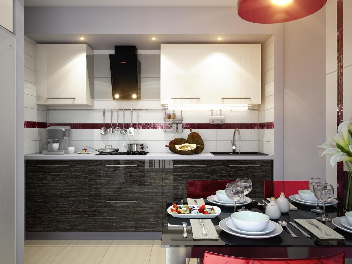 маленькая кухня оформление фото