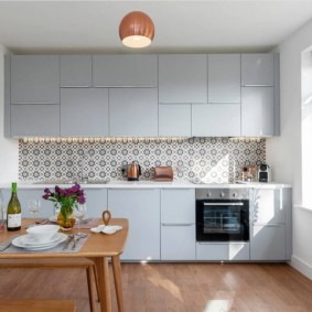 маленькая кухня фото интерьера