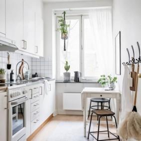 маленькая кухня идеи оформление