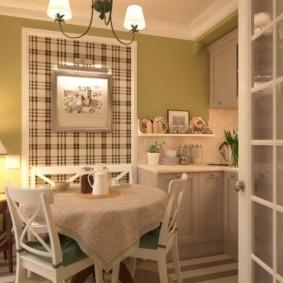 маленькая кухня виды дизайна