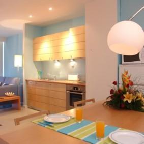 маленькая кухня виды интерьера