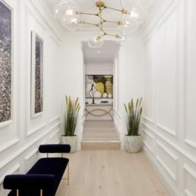 узкий коридор в квартире фото варианты