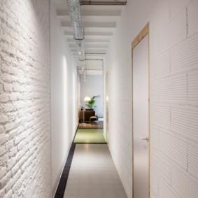 длинный узкий коридор в квартире хрущевке