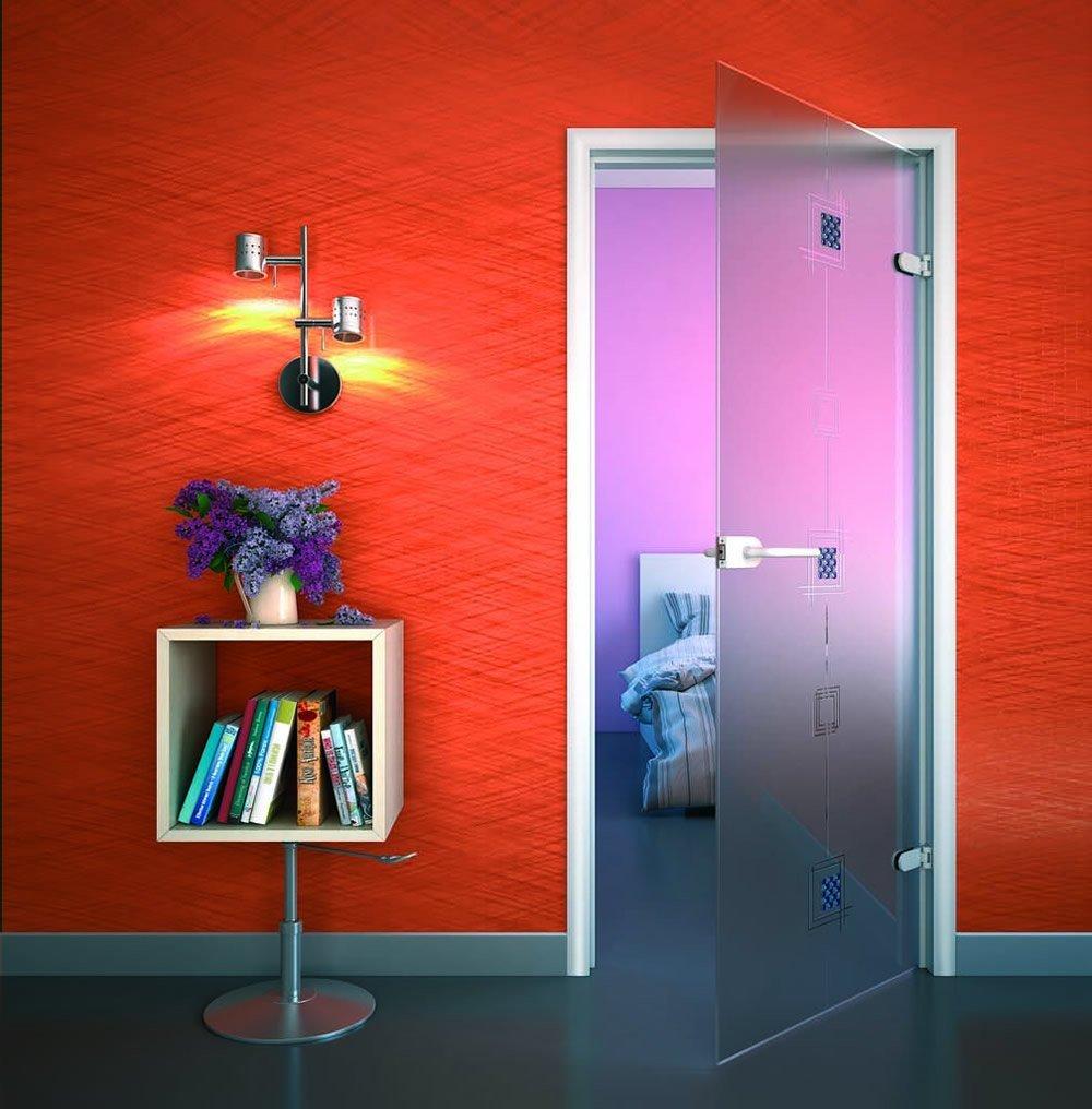 Стеклянное полотно межкомнатной двери