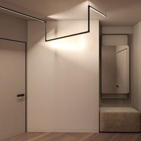 Оригинальный светильник в стиле минимализма