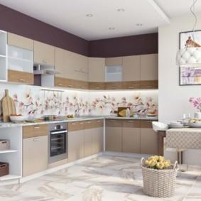 модульная кухня фото