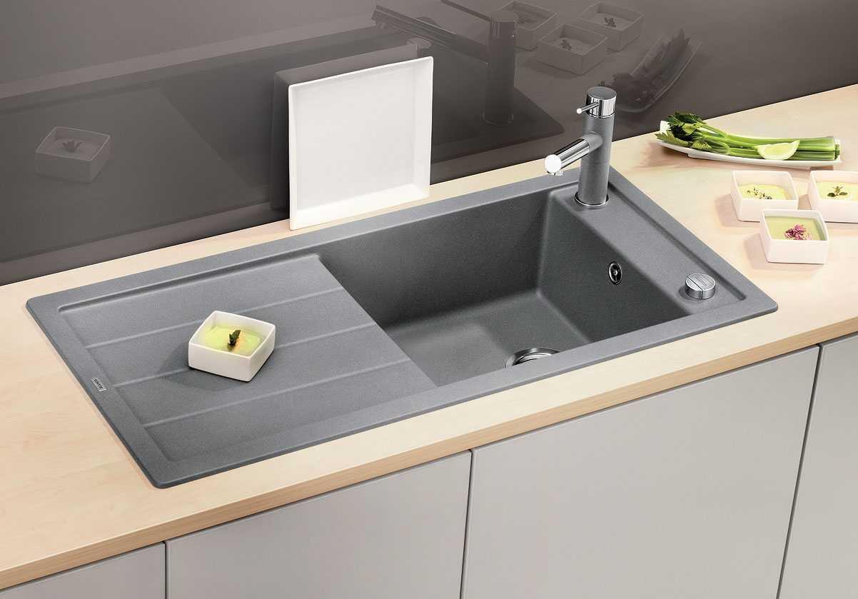 мойка для кухни из искусственного камня интерьер идеи