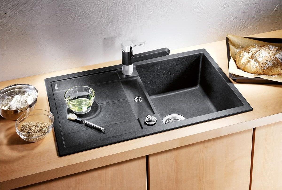 мойка для кухни из искусственного камня идеи оформление