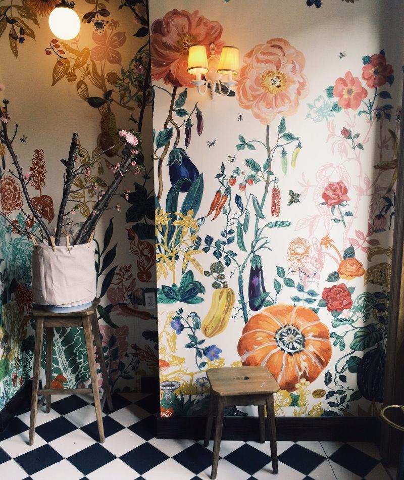 Светильники на стен с росписью акриловыми красками