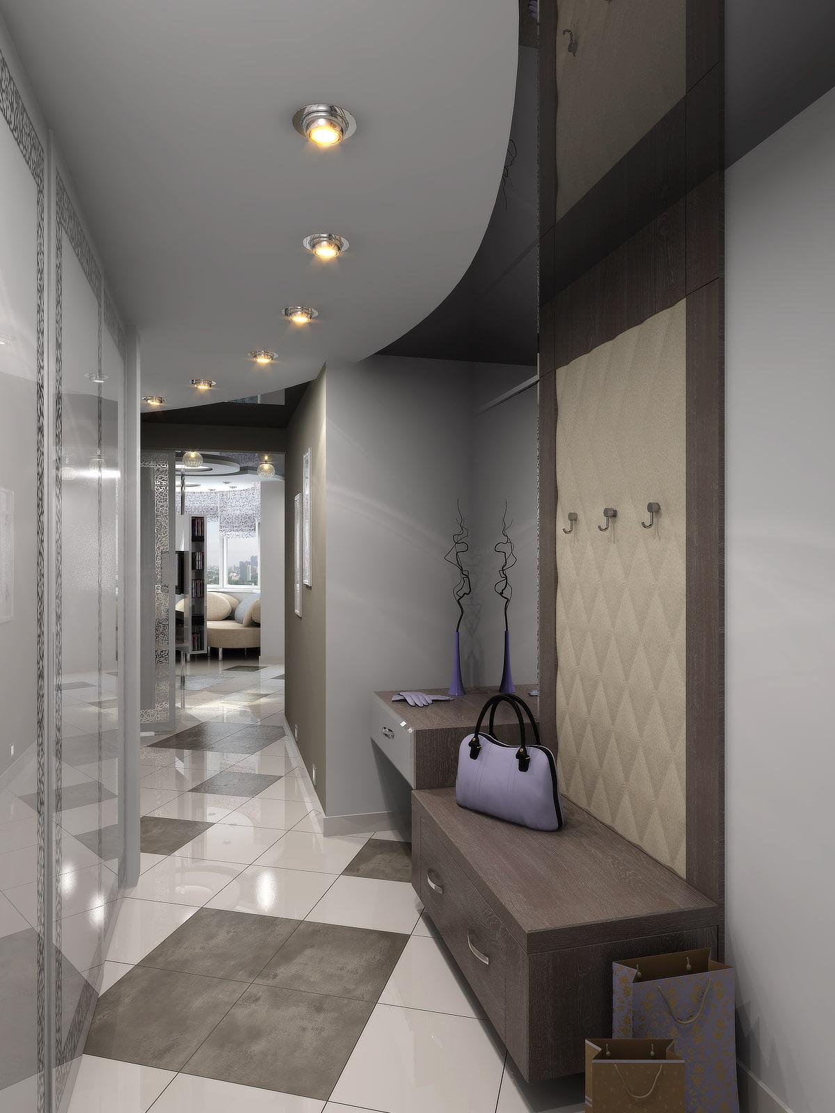 Натяжной потолок в коридоре дизайн фото оказаться
